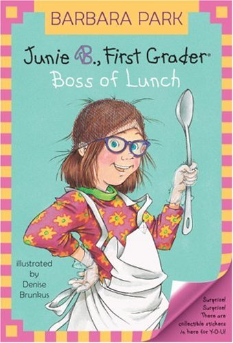childrens literature book reviews junie b first grader boss of lunch - Junie B Jones Coloring Pages