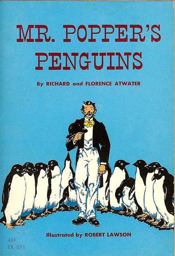 Children's Literature Book Reviews / Mr Popper's Penguins