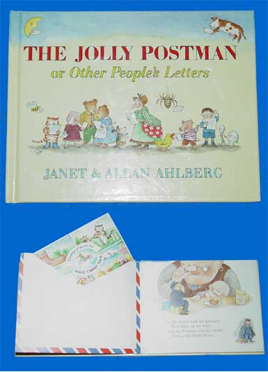 Childrens literature book reviews the jolly postman textual elements spiritdancerdesigns Images